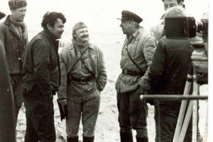 На съемках фильма «20 дней без войны»